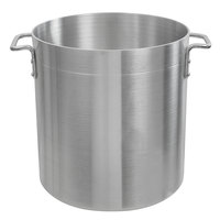 Choice 24 Qt. Standard Weight Aluminum Stock Pot