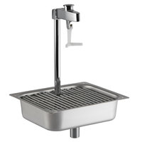 Fisher 1400 Water Station with 10 inch Pedestal Glass Filler - 2.2 GPM