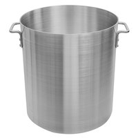 Choice 60 Qt. Standard Weight Aluminum Stock Pot