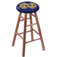 Holland Bar Stool RC30MSMedND-ND University of Notre Dame Wood Bar Stool with Medium Finish