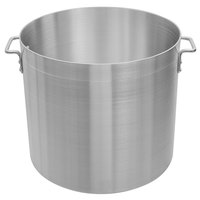 Choice 80 Qt. Standard Weight Aluminum Stock Pot