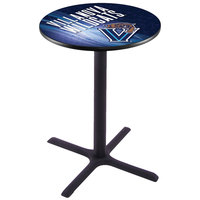 Holland Bar Stool L211B3628VILNVA-D2 28 inch Round Villanova University Pub Table