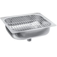 Fisher 1403 Stainless Steel Sink Assembly with Drain