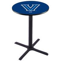 Holland Bar Stool L211B36VILNVA 28 inch Round Villanova University Pub Table