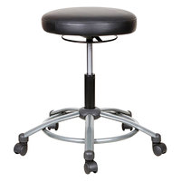 Alera ALEUS4616 Black Height-Adjustable Utility Stool