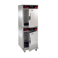 Cres Cor CO-151-HUA-6DE-STK Full Height Roast-N-Hold Convection Oven with Standard Controls and Universal Angles - 208V, 3 Phase, 4700W