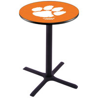 Holland Bar Stool L211B42CLMSON 28 inch Round Clemson University Bar Height Pub Table