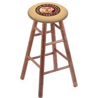 Holland Bar Stool RC30MSMedIndn-HD Indian Motorcycle Wood Bar Stool with Medium Finish