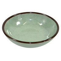 Elite Global Solutions DB51M Mojave Vintage California 10 oz. Hemlock Small Round Crackle Bowl - 6/Case
