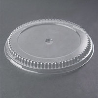 Genpak 95A10 Clear Lid for 10 inch Round Pans - 200/Case