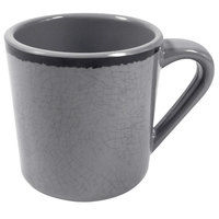 Elite Global Solutions DC Mojave Vintage California 10 oz. Gray Mug - 6/Case