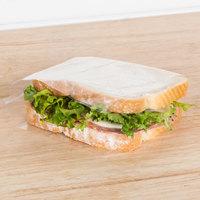 Plastic Food Bag 6 inch x 6 inch Sandwich Size On a Roll - 2500/Roll