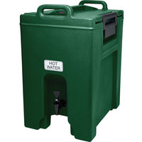 Cambro UC1000519 Ultra Camtainer 10.5 Gallon Green Insulated Beverage Dispenser