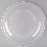 Fineline HC1010.L ReForm 10 inch Clear High Dome Plastic Catering Bowl Lid - 50/Case