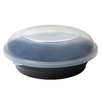 Fineline HC1616/25.L ReForm 16 inch Clear High Dome Plastic Catering Bowl Lid - 50/Case