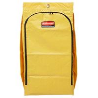 Rubbermaid 1966881 34 Gallon Yellow High Capacity Vinyl Janitor Cart Bag