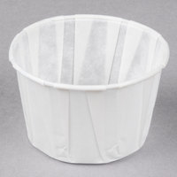 Genpak F250 2.5 oz. Harvest Paper Souffle / Portion Cup - 250/Pack