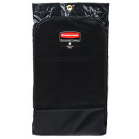 Rubbermaid 1966720 Executive 24 Gallon Black Vinyl Janitor Cart Bag