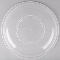 Fineline HC1212.L ReForm 12 inch Clear High Dome Plastic Catering Bowl Lid - 50/Case
