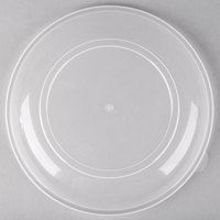 Fineline HC0909.L ReForm 9 inch Clear High Dome Plastic Catering Bowl Lid - 50/Case