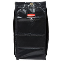 Rubbermaid 1966886 Executive 34 Gallon Black High Capacity Vinyl Janitor Cart Bag