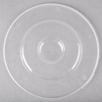 Fineline C0725C.L ReForm 7 1/4 inch Clear Flat Plastic Catering Bowl Lid - 100/Case