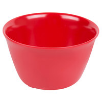 Carlisle 4354005 Dallas Ware 8 oz. Red Bouillon Cup - 24/Case