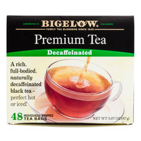Bigelow Premium Decaffeinated Tea - 48 / Box