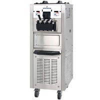 Spaceman 6378AHB Two Hopper Soft Serve Ice Cream Machine with Air Pump and Heat Treat - 208/230V, 3 Phase
