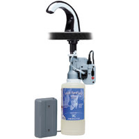 Bobrick B-826.18 Chrome Counter Mount Automatic Liquid Soap Dispenser with OneShot Soap Refill