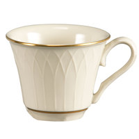 Homer Laughlin 1420-0327 Westminster Gothic Off White 3.25 oz. China Cup - 36/Case