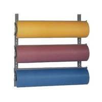Bulman T292-24 24 inch Horizontal Three Paper Roll Wall Rack