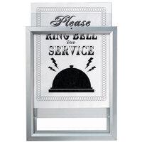 Aarco Insta Frame 8 1/2 inch x 11 inch Aluminum Slide Frame