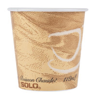 Dart Solo 374MS-0029 4 oz. Mistique Single Sided Poly Paper Hot Cup - 1000/Case
