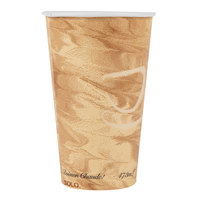 Dart Solo 316MS-0029 16 oz. Mistique Single Sided Poly Paper Hot Cup - 1000/Case