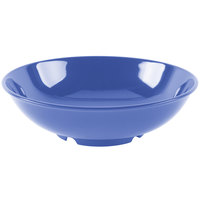 GET B-48-PB Diamond Mardi Gras 60 oz. Peacock Blue Melamine Bowl - 12/Case