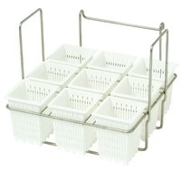 Anets C10693-00 Rack with 9 Individual Pasta Cups