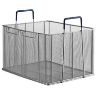 Anets P9800-88 16 inch x 13 inch x 10 inch Stainless Steel Bulk Pasta Basket