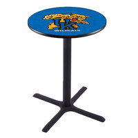 Holland Bar Stool L211B4228UKYCAT 28 inch Round University of Kentucky Bar Height Pub Table