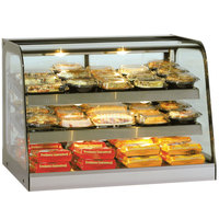 Federal Industries CH4828 Signature Series 47 inch Heated Countertop Display Cabinet - 12.5 Cu. Ft.