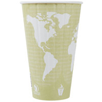 Eco Products EP-BNHC16-WD World Art 16 oz. Insulated Hot Cup - 600/Case