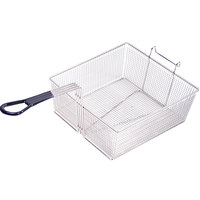 Anets P9800-54 17 3/4 inch x 16 3/4 inch x 6 inch Full Size Fryer Basket with Front Hook