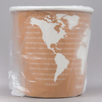 Eco Products EP-BHC10-WAW World Art 10 oz. Individually Wrapped Hot Cup - 1000/Case