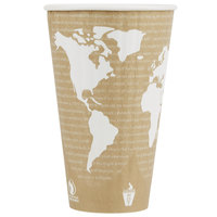 Eco Products EP-BNHC20-WD World Art 20 oz. Insulated Hot Cup - 600/Case