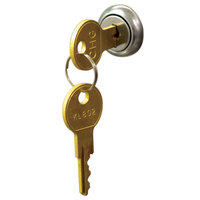 Advance Tabco CASH-1-KEYS Undermount Cash Drawer Key - 2/Set