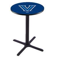 Holland Bar Stool L211B42VILNVA 28 inch Round Villanova University Bar Height Pub Table