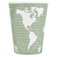 Eco Products EP-BNHC12-WD World Art 12 oz. Insulated Hot Cup - 600/Case