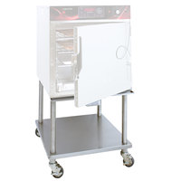 Cres Cor 1212-165 24 inch Stainless Steel Mobile Equipment Stand