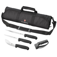 Victorinox 57612 5-Piece Fibrox Knife Set with Carrying Case