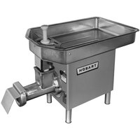 Hobart 4732A-18-STD #32 Meat Chopper with Removable Pan - 200V - 3 hp